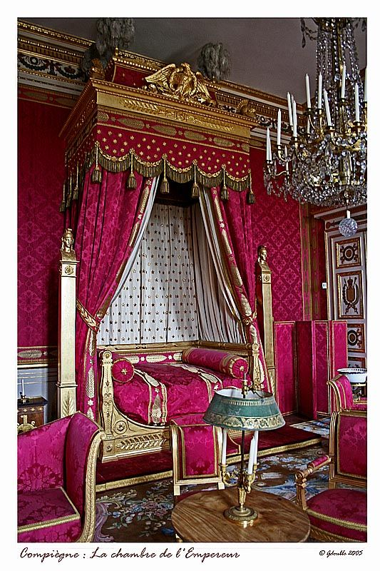 The Emperor's room - Compiegne, Picardie