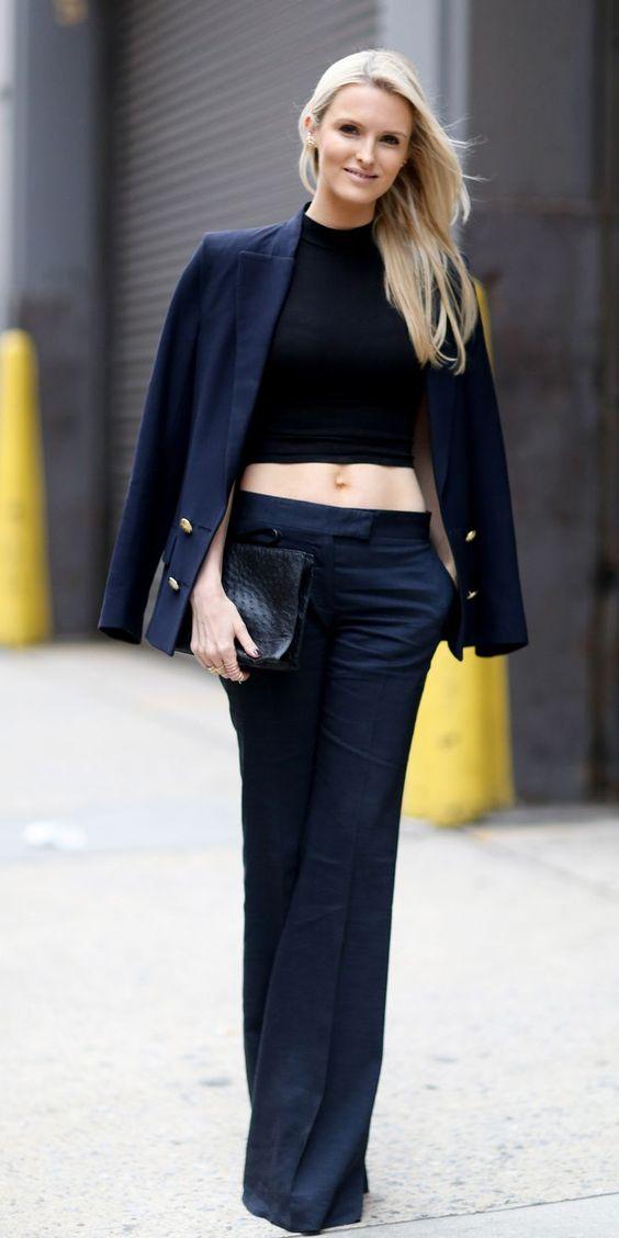 womens navy blue dress pants - women pants - Pinterest - Blue ...