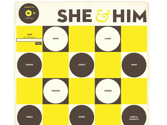 http://www.sheandhim.com/ - She & Him