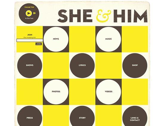 http://www.sheandhim.com/ - She & Him