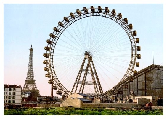 La grande roue. Paris 1900