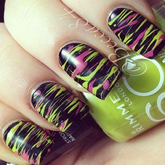 Nails Art - black