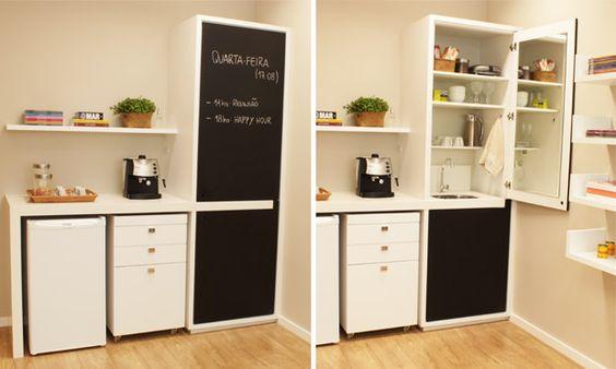 Pequenos ambientes: dicas e segredos para aproveitar melhor os espaços - Casa - MdeMulher - Ed. Abril