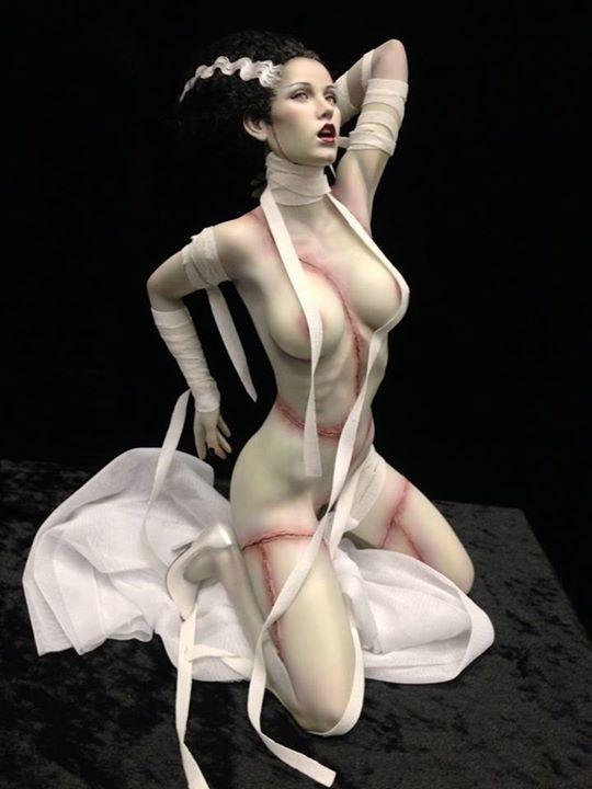 Bride Of Frankenstein Nude Jennifer