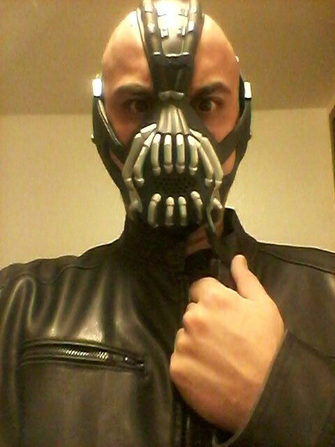 Bane from the bank heist