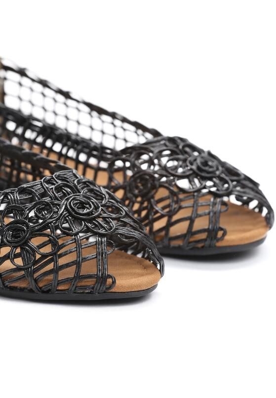 Czarne Balerinki Like A Dream Shoes Sandals Like