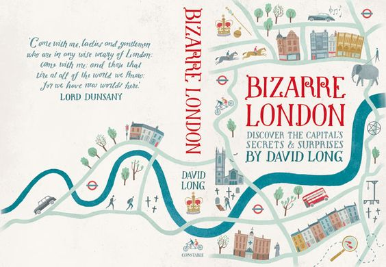 Typographic Book Cover Map : Sara mulvanny illustration book cover map london