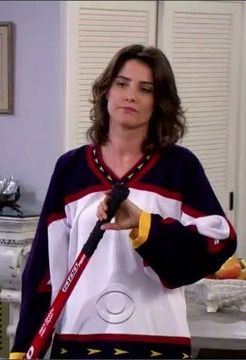 Robin scherbatsky hockey jersey. I want with personalized last name on the back. It could also be San Jose Sharks one that'd be dope. Just love the fitting. I want a hockey jersey