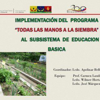 Coordinador: Lcdo. Apolinar Bello Equipo: Prof. Carmen Landaeta Lcdo. Wilmer Horta Lcdo. José Márquez   Es el programa que promueve un nuevo proceso de si. http://slidehot.com/resources/didactica-ptms-y-formacion.44493/