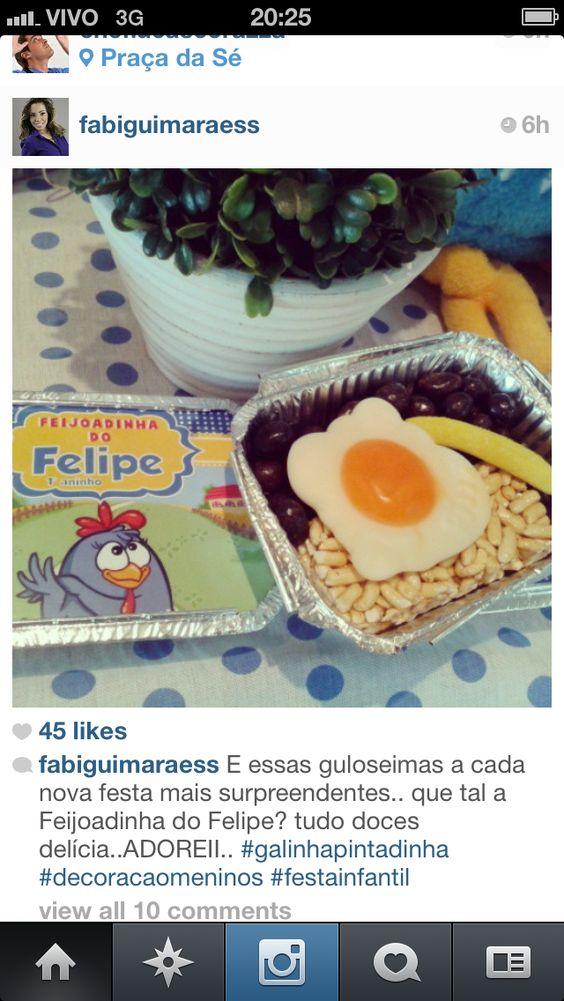Inspiracao Festa Galinha Pintadinha