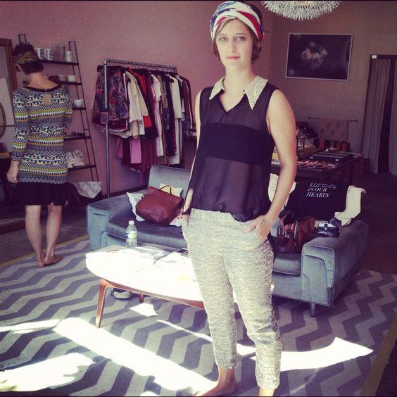 Elkin 'Jules' pant at Myrtle boutique in Echo Park.