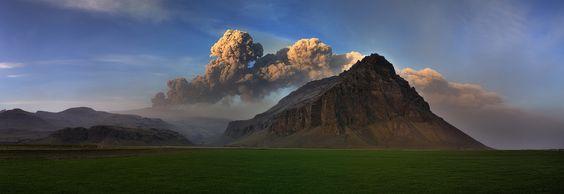Zur Abwechslung wieder ein Bild aus dem Jahr 2010. Am letzten Tag meines Kurztrips zum Ausbruch des Eyjafjallajökull hatte ich gegen Abend noch einmal...
