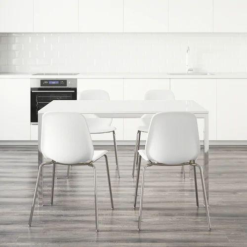 IKEAのダイニングテーブルTORSBYはチェアを自由に組み合わせてオシャレにコーディネート