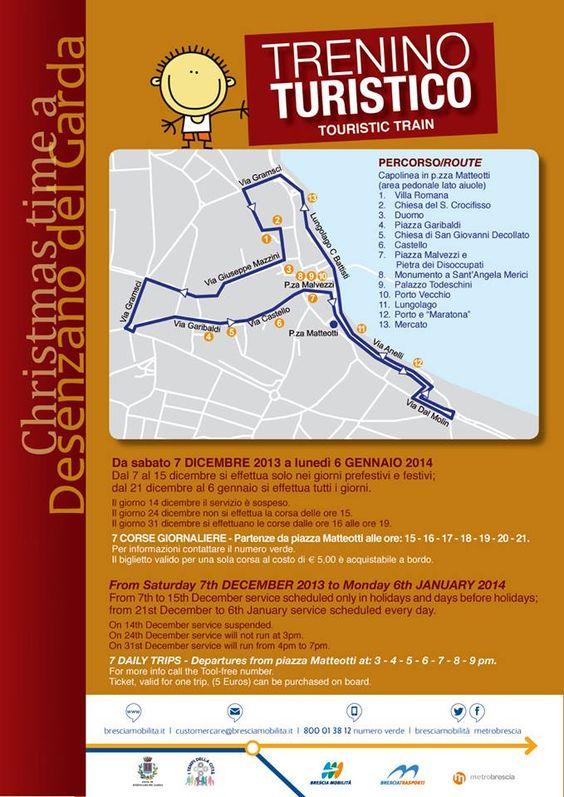 Desenzano del Garda: il Trenino Turistico di Natale 2013 @GardaConcierge #Natale