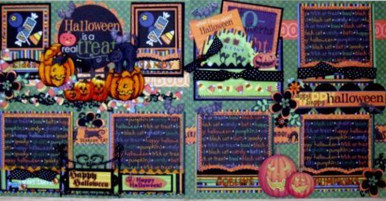 halloween layout 2