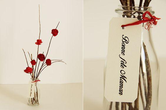 Faire des fleurs en papier pour la fête de mères