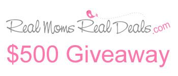 $500 Giveaway @ http://www.giveawaypromote.com/2012/02/500-giveaway-real-moms-real-deals/