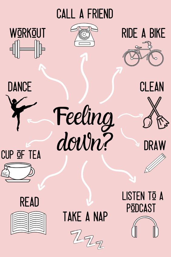 Ways to Improve Mental Health #mentalhealthjournal Mental health is SOO important. I have had my fair share of bad mental health days, weeks, and even months .When i'm feeling down, I try all of these things to help make myself feel better and more motivated!!