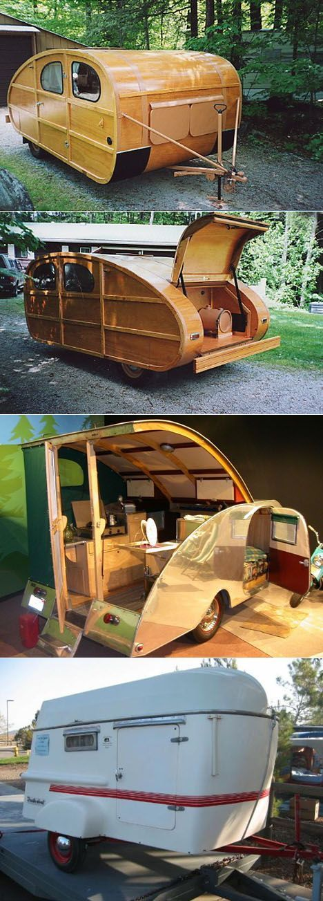 Teardrop Trailer With Bathroom: Vehicles, Woody And The Great On Pinterest