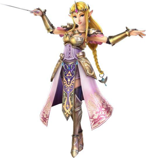 Zelda avec la baguette du  vent : Hyrule Warriors