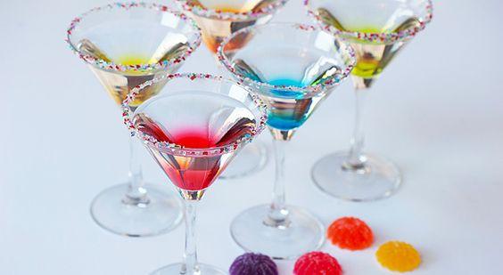 Gumdrop Martini