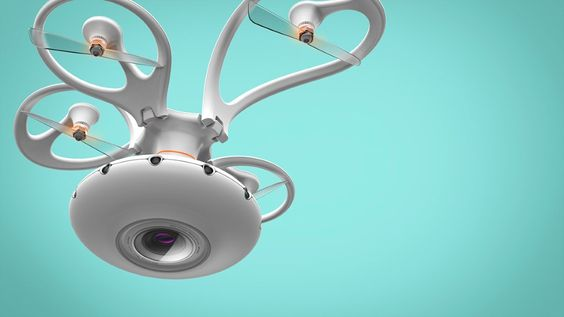 You won't see a crazier looking drone. | Yanko Design