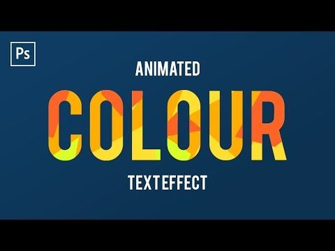 20 How To Animate Text In Adobe Photoshop Cc Frame Animation Youtube Text Animation Frame By Frame Animation Photoshop