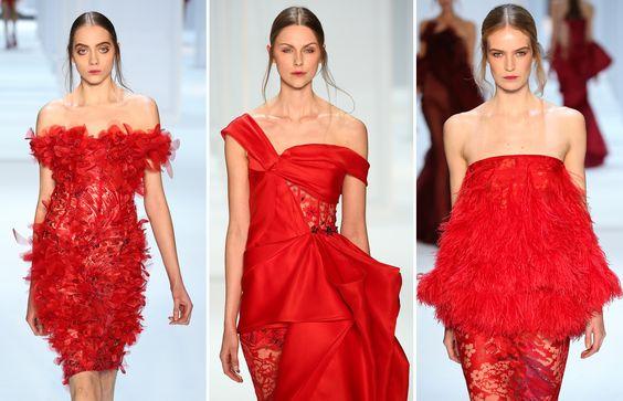 Valentino foi destaque na semana de moda de Paris