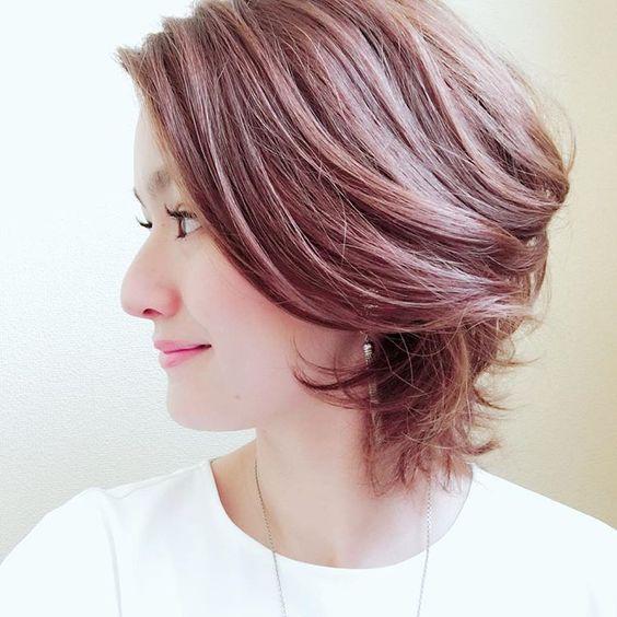 早川瑠里子さんはinstagramを利用しています 髪をしっかり巻き巻き