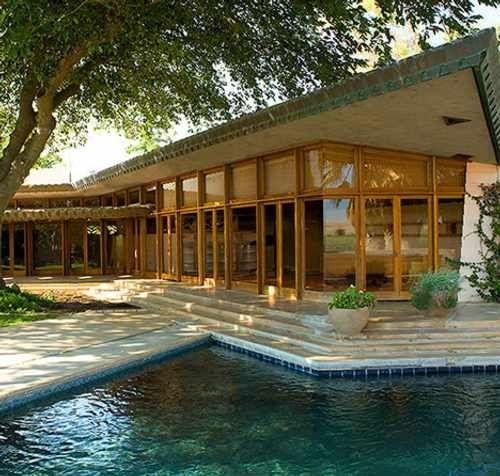 Luxury Farm Homes: Casa Fawcett De Frank Lloyd Wright