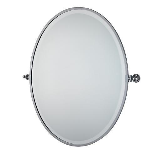 Luxury Wall Mounted Oval Bathroom Mirror Mirror Handmade