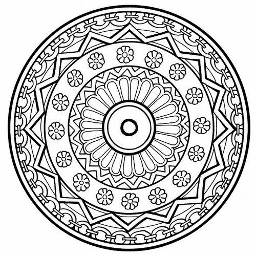 google images mandala coloring pages - photo#11