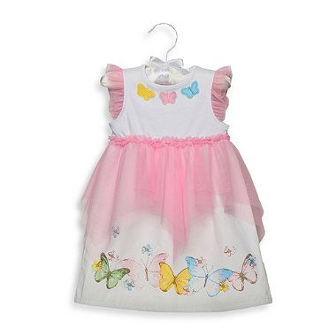 Anne Geddes Butterfly Collection 2-Piece Dress With Diaper Pant - buybuyBaby.com