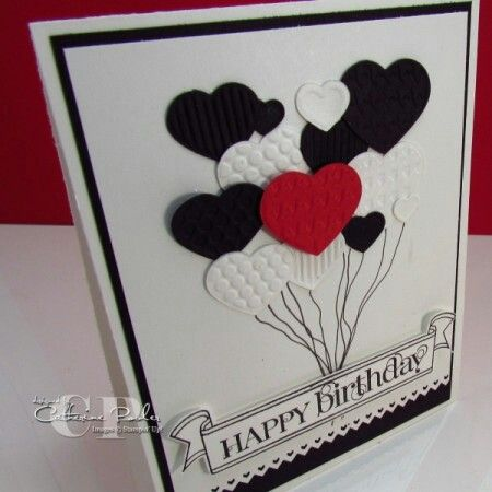Easy birthday card idea CardsBirthday Pinterest – Pinterest Stampin Up Birthday Cards