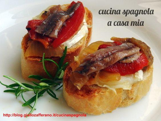 escalivada tapa su pane cucina spagnola httpbloggiallozafferano