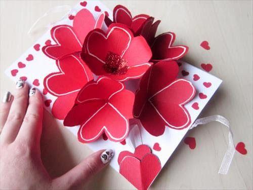 DIY valentine cards for him Crafty Pinterest – Valentines Card 2015