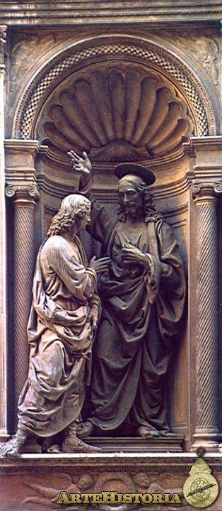 VERROCHIO. Duda de Santo Tomás. 1470.