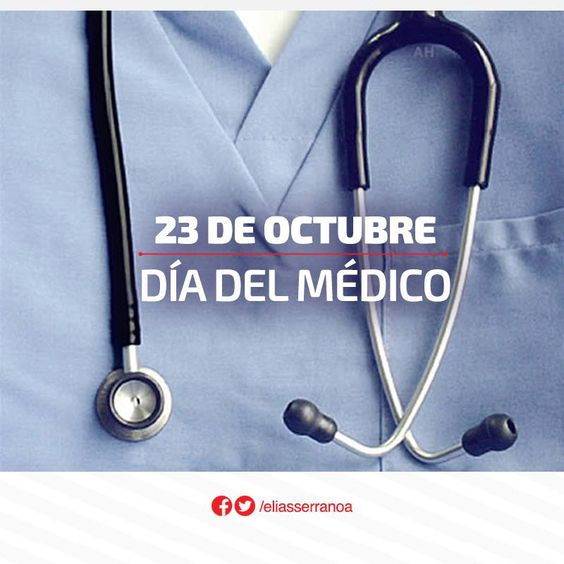 Muchas felicidades a todas aquellas personas que se desempeñan como Médicos. ¡Gracias!