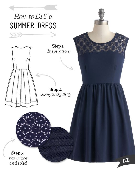 There's nothing better for summer than a flirty dress. My closet is chock-full of dresses. As soon as summer starts to appear, I just can't resist making a few more. I love dresses for so many reasons. One, they're so easy to just throw on and go. Two,...