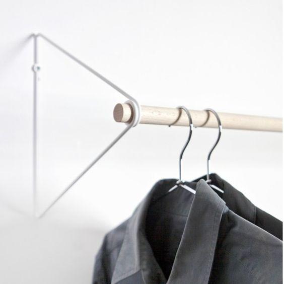 Garderoben - Garderobe Spring weiss - Buche - ein Designerstück von my-designshop bei DaWanda