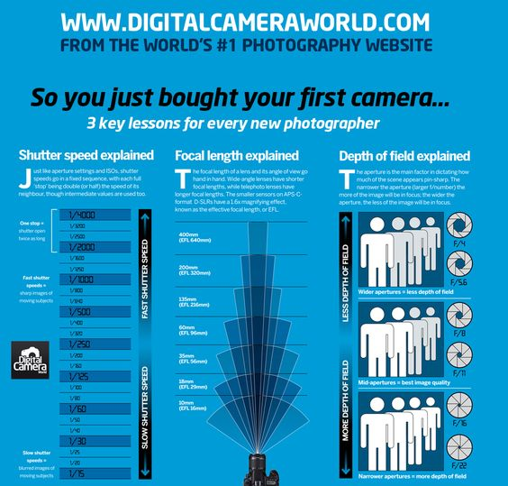 3 camera lessons every new photographer should learn (free cheat sheet)