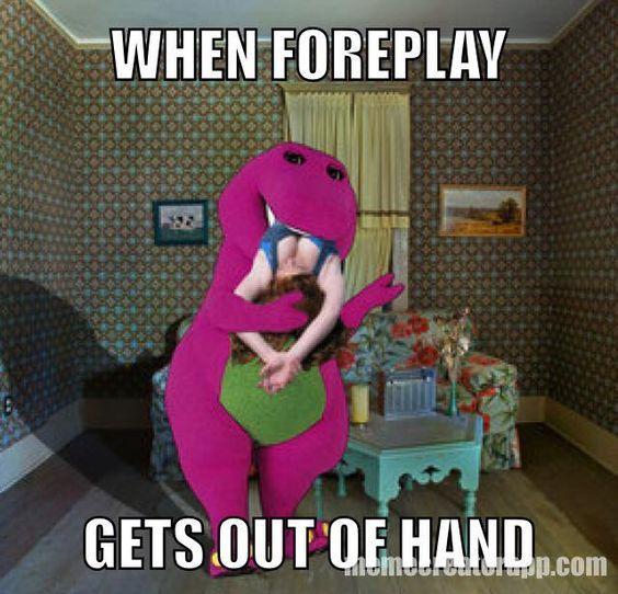 Barney And Foreplay My Rude Barney Meme Pinterest