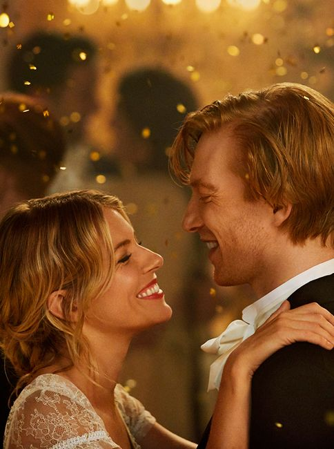 Sienna Miller and Domnhall Gleeson star in The Tale of Thomas Burberry, wearing a modern take on traditional evening wear. Slim-fit suiting & silk dresses with lace trims.