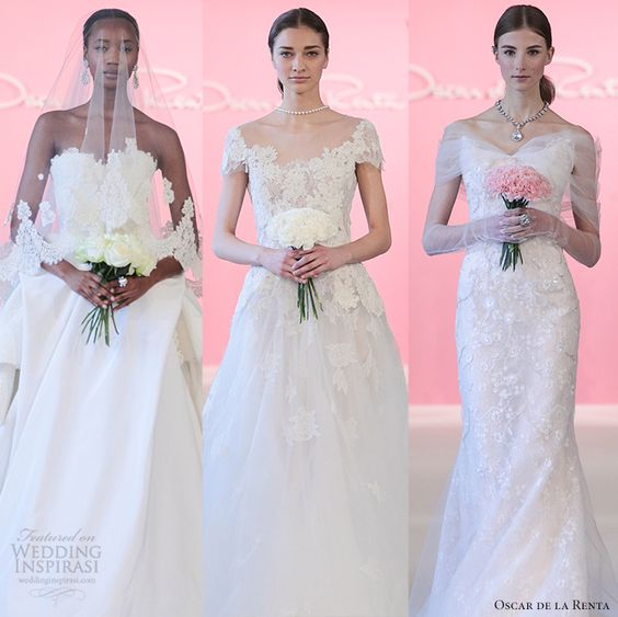Oscar de la Renta 2015 Bridal Collection