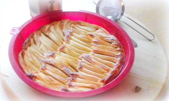 Simis-Schlemmerblog: Feiner Apfelkuchen