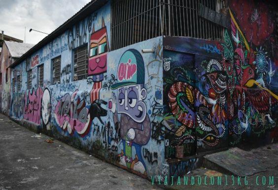 Sao Paulo (Brasil). Beco do Aprendiz