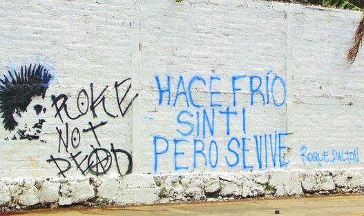 Grafiti: poesía eres tú..., por Miguel Huezo Mixco