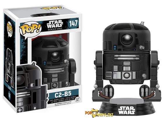 Star Wars Rogue One Pop! Vinyls now available…