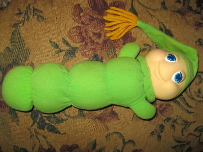 Glow worm that only worked if your friends helped you squeeze it.