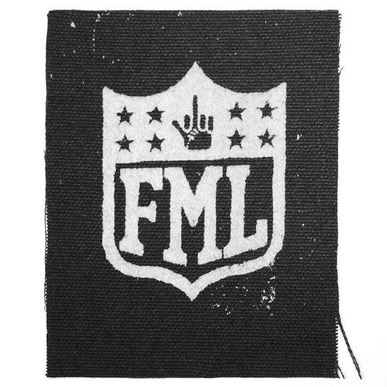 AMIETE CLOTHING FML PATCH